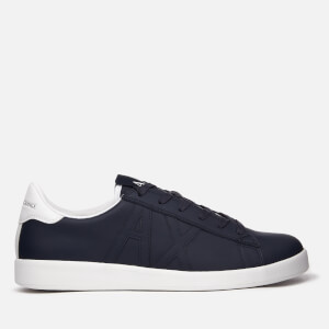 Armani Exchange Men's Low Top Trainers - Navy