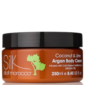 Silk Oil of Morocco Vegan Argan Body Cream 250ml (Various Fragrances)