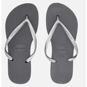 Havaianas Women's Top Tiras Flip Flops - Steel Grey
