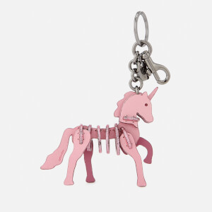 Coach Women's Small Unicorn Puzzle Bag Charm - BK/Primrose
