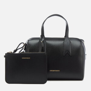 Emporio Armani Women's Boston Bag - Black