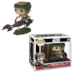 Star Wars Leia on Speeder Bike Pop! Deluxe Figure