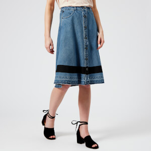 Maison Scotch Women's A Line Skirt - Aloha