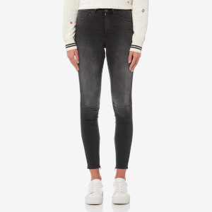 Maison Scotch Women's Haut Jeans - Wonderblack