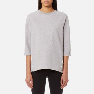Maison Scotch Women's Club Nomade Clean Sweatshirt - Grey Melange