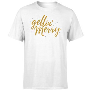 Gettin' Merry White T-Shirt