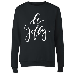 Be Jolly Women's Sweatshirt - Black