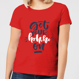 Get your Ho Ho Ho On Women's T-Shirt - Red