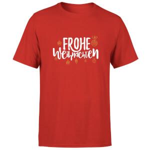 Frohe Weihnachten T-Shirt - Red