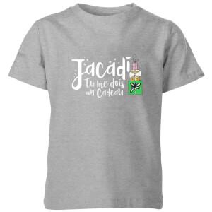 "Camiseta Navidad ""Jacadi"" - Niño - Gris"