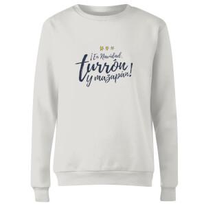 Turron Women's Sweatshirt - White