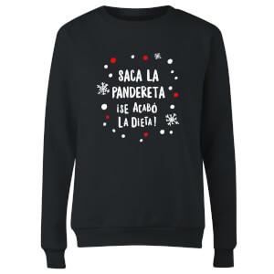 Saca La Pandereta Women's Sweatshirt - Black