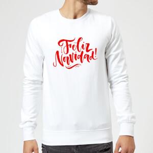 Feliz Navidad Sweatshirt - White