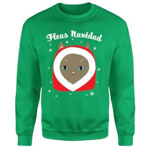 Fleas Navidad Sweatshirt - Kelly Green