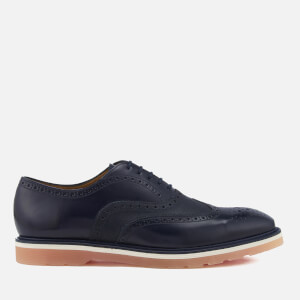PS by Paul Smith Men's Brody Grain Leather Brogues - Dark Navy