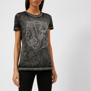Versace Jeans Women's Logo T-Shirt - Grey