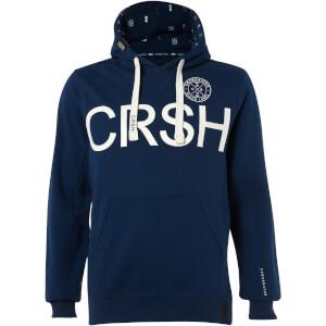 Crosshatch Men's Retrojer Hoody - Estate Blue