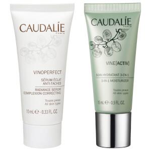 Caudalie Vinoperfect Serum and Caudalie Vineactiv Cream (Free Gift) (Worth $26.33)