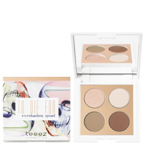 Teeez Cosmetics To Die For Eyeshadow Quad - Cinnamon Revolution 71g