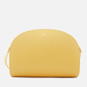 A.P.C. Women's Demi Lune Bag - Yellow