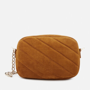 A.P.C. Women's Carole Suede Cross Body Bag - Caramel