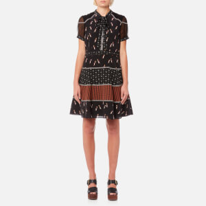 Coach Women's Circle Dress - Black Multi