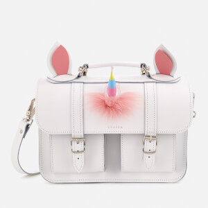 Grafea Women's Morgan Satchel - White Unicorn