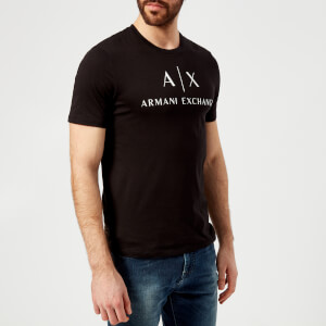 Armani Exchange Men's Chest Logo T-Shirt - Black