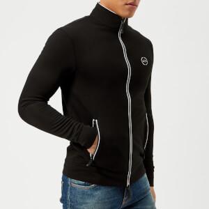 Armani Exchange Men's Zipped Sweat Top - Black