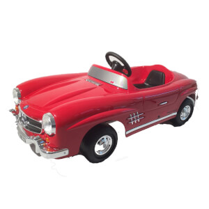 Mercedes 300SL Pedal Power Car - Red