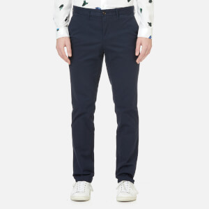 Michael Kors Men's Slim Fit Stretch Brushed Cotton Chinos - Midnight
