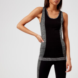 M-Life Women's Twill Seamless Tank Top - Black