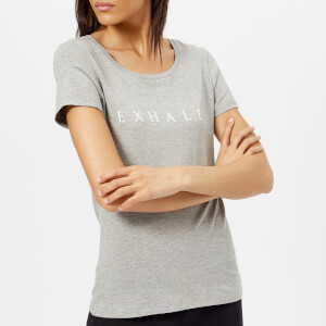 M-Life Women's Breath T-Shirt - Pebble Melange