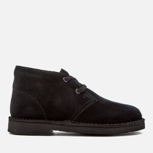 Clarks Originals Kids' Desert Boots - Black Suede