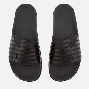Emporio Armani Men's Slide Sandals - Black
