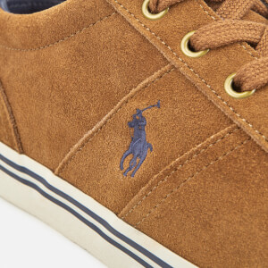 Polo Ralph Lauren Men's Hanford Suede Trainers - New Snuff: Image 6