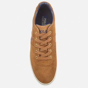 Polo Ralph Lauren Men's Hanford Suede Trainers - New Snuff: Image 3