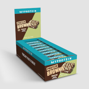 Myprotein Protein Brownie V2, 12 x 3.52 Oz (USA)