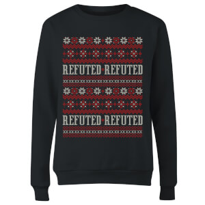 Refuted Christmas Women's T-Shirt - Black