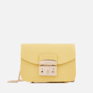 Furla Women's Metropolis Mini Cross Body Bag - Yellow