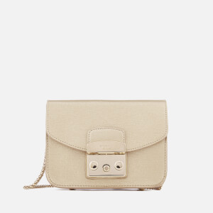 Furla Women's Metropolis Mini Cross Body Bag - Gold