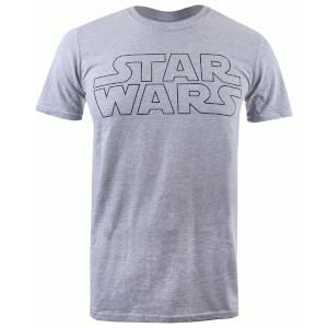 Star Wars Men's Basic Logo T-Shirt - Grey Marl