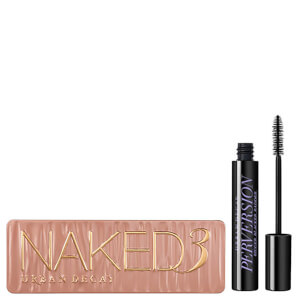 Conjunto de paleta e máscara de pestanas Urban Decay Naked 3 Palette and Mascara Bundle