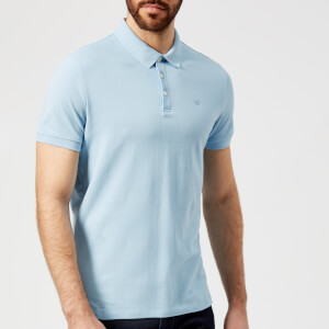 Emporio Armani Men's Polo Shirt - Azzurro