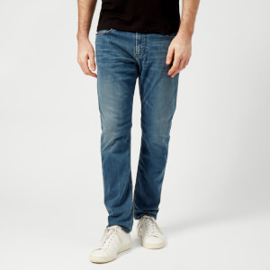 Emporio Armani Men's 5 Pocket Slim Jeans - Denim Blu