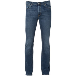 Jack & Jones Men's Originals Mike Straight Fit Jeans - Mid Wash
