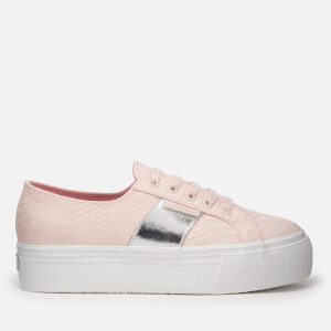 Superga Women's 2790 Punsnakew Flatform Trainers - Light Pink
