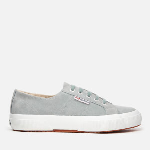 Superga Women's 2750 Sueu Trainers - Light Grey