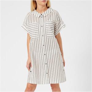 Karl Lagerfeld Women's Captain Karl Stripe Dress - Multi