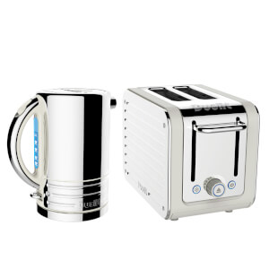 Dualit Architect Kettle and 2 Slot Toaster Bundle - Canvas